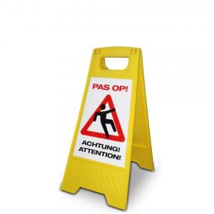 waarschuwing natte vloer