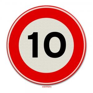 10 km per uur