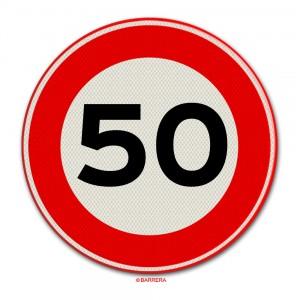 50 km per uur