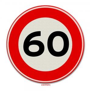 60 km per uur
