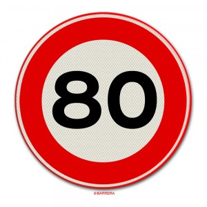 80 km per uur