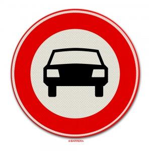 Gesloten voor voertuigen