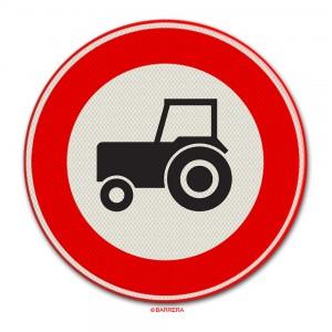 Gesloten voor tractoren