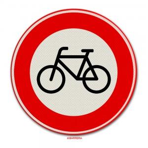Gesloten voor fietsen