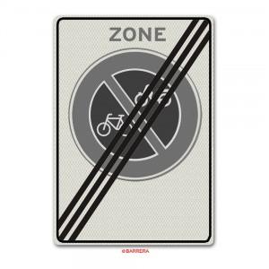Verkeersbord E03ze