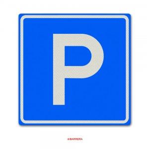 Verkeersbord E04 Parkeergelegenheid