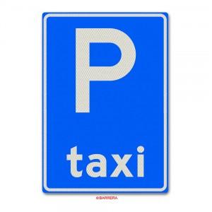 Verkeersbord Taxistandplaats