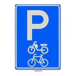 Parkeergelegenheid bromfietsen en fietsen