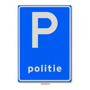 Parkeergelegenheid politievoertuigen