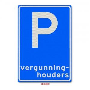 E09 Parkeren voor vergunninghouders