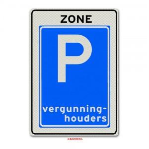 parkeren voor vergunninghouders