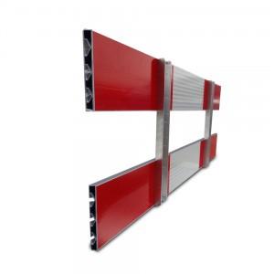 aluminium schrikhek 150 cm