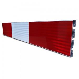 Aluminium schrikhekplank 150