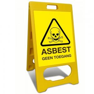 Waarschuwing Asbest
