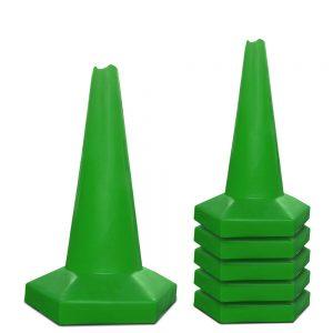Groene afzetkegels