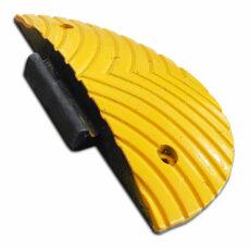 gele verkeersdrempel