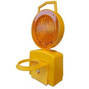 lamp op een kegel