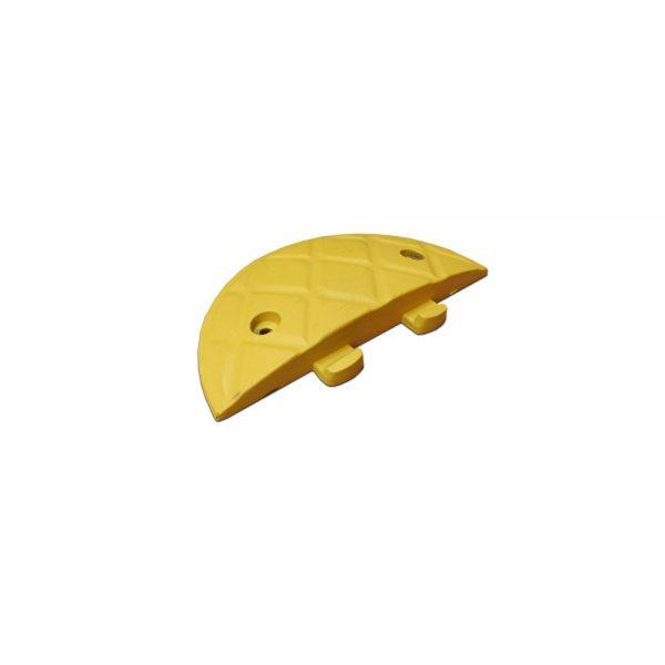 75mm geel eindstuk