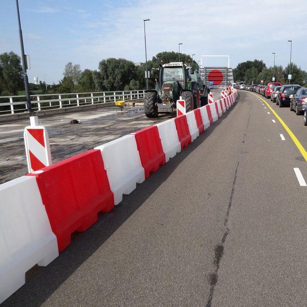 hoge kunststof barrier