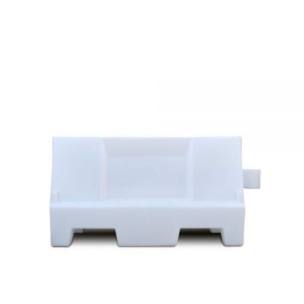 witte kunststof barrier