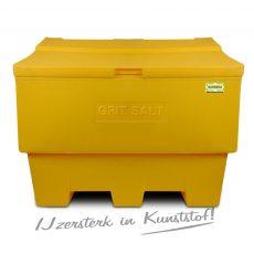 Gele zoutkist 400 liter