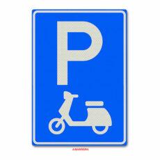 parkeergelegenheid voor scooters