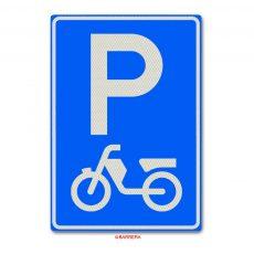 parkeergelegenheid voor bromfietsen