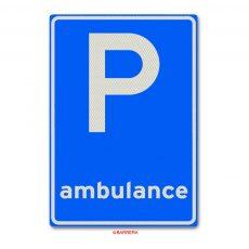 parkeergelegenheid voor ambulance