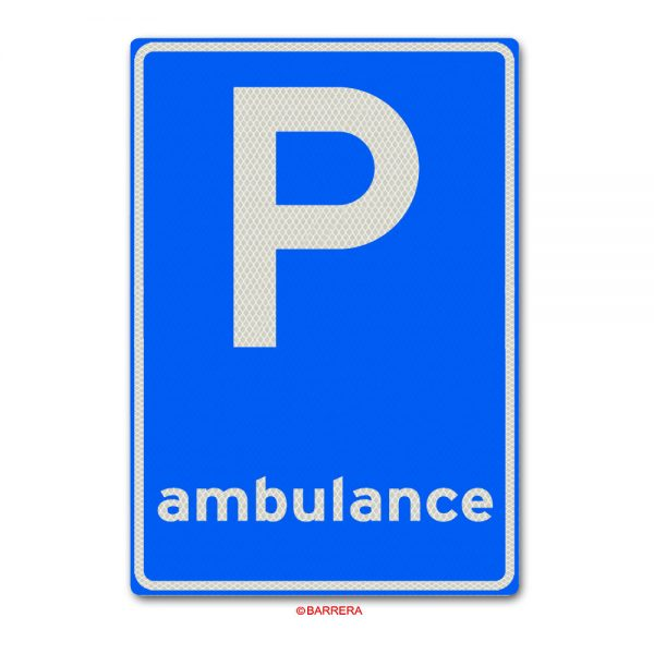 parkeergelegenheid voor ambulance