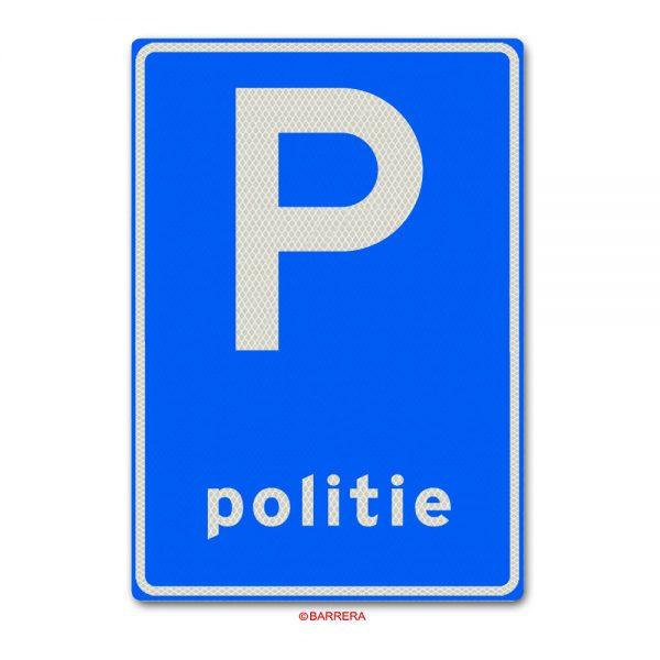 parkeergelegenheid voor politievoertuigen