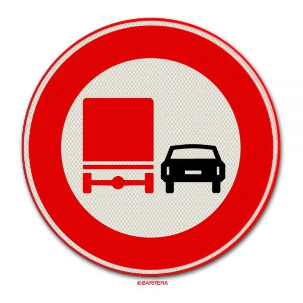 verbod voor vrachtauto's