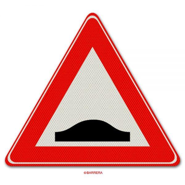 verkeersbord verkeersdrempel
