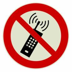 Mobiele telefoon verboden