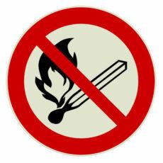 Vuur en roken verboden