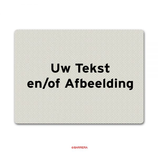 Wit Tekstbord