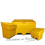 Kunststof Zoutkist 170 liter (PE) Donkergroen