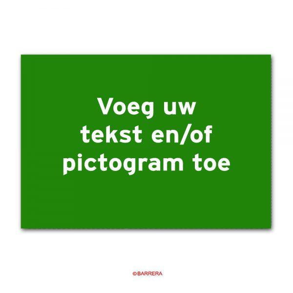 Groen Tekstbord