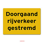 Container markeringstickers set Klasse 2
