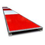 Afdekkap voor aluminium sleuvelprofiel