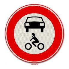 Verboden voor alle motorvoertuigen