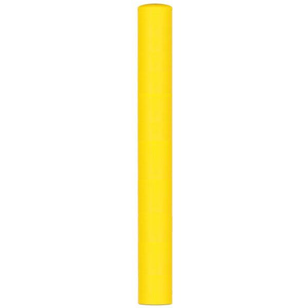 gele beschermpaal aardebaan