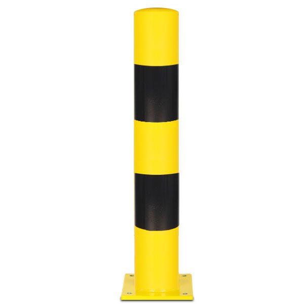 beschermpaal geel zwart