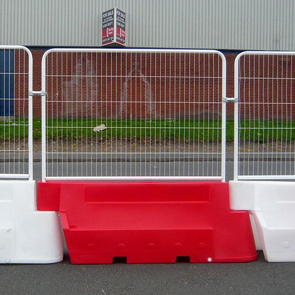 barrier met paneel