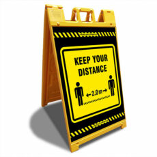 keep your distance a-frame