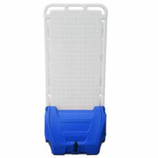 blauw mobiel calamiteiten paneel