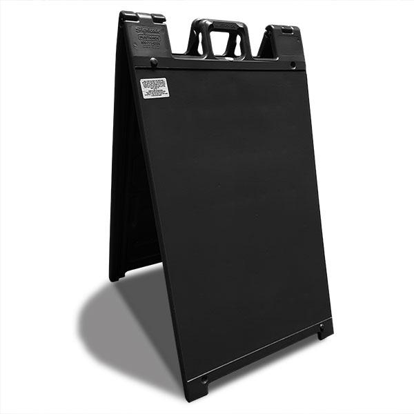 zwart stoepbord