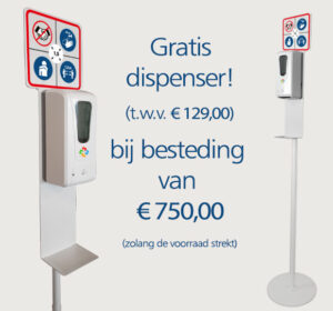 gratis dispenser