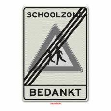 einde schoolzone