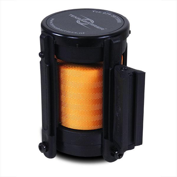cassette met oranje lint