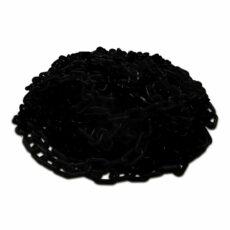 zwarte kunststof ketting